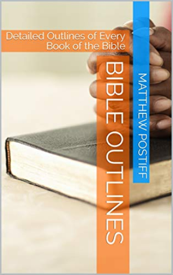 Bible Outlines Book Cover